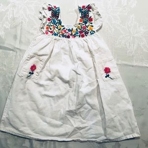 Hand Made Mexican Toddler Dress Size 2